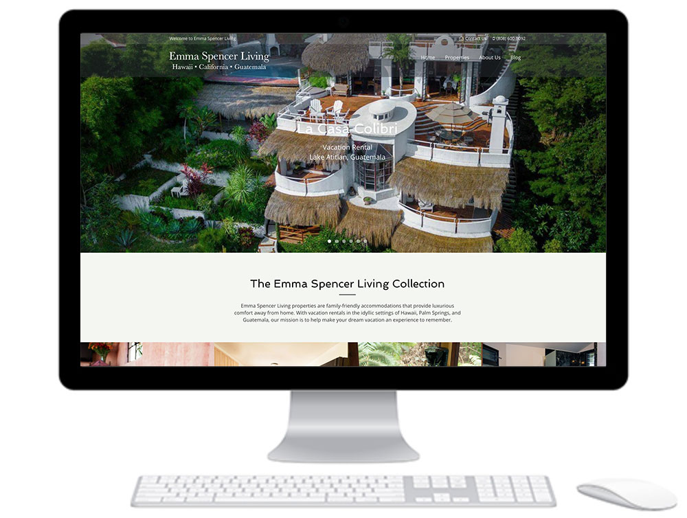 Emma Spencer Living Website Design