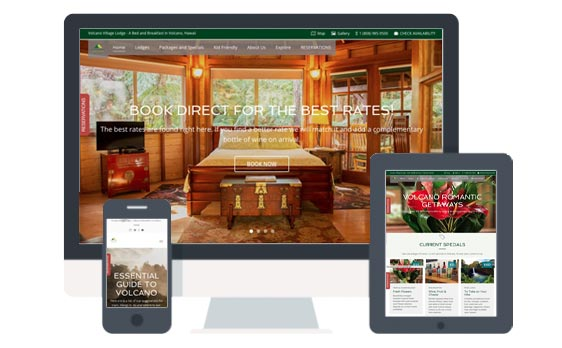 Website Design for Lodges